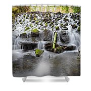 Small Cascade In Marlay Park Shower Curtain