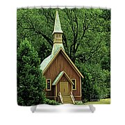 Small Chapel  Shower Curtain