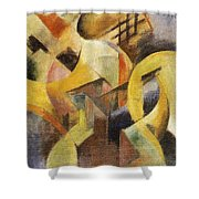 Small Composition 1913 Shower Curtain