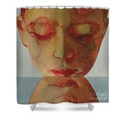Small Echo Shower Curtain