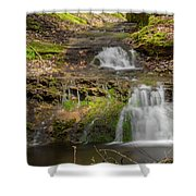 Small Falls At Parfrey's Glen Shower Curtain