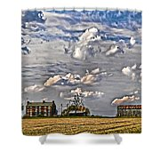 Small Farms Fading Fast Shower Curtain
