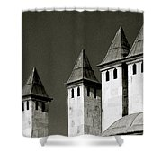 The Small Minarets Shower Curtain