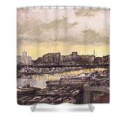 Small-port Santander Shower Curtain