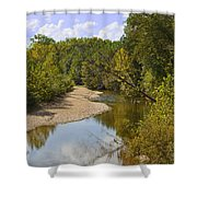 Small River 1 Shower Curtain