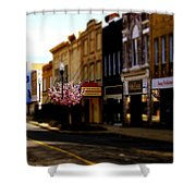 Small Town 2 Shower Curtain
