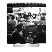 Small Town Cafe, 1941 Shower Curtain