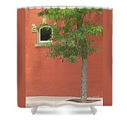 Small Town Color Shower Curtain