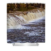 Small Water Fall Shower Curtain