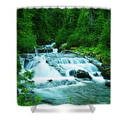 Small Waterfall On The Paradise River Shower Curtain