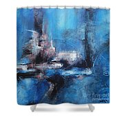 Small Window Of Time Shower Curtain