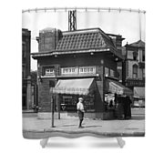 Smallest Store In The World Shower Curtain
