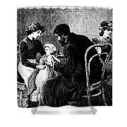 Smallpox Vaccination, 1883 Shower Curtain