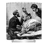 Smallpox Vaccine, 1883 Shower Curtain