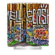 Smell Cash Shower Curtain