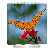 Smell The Flowers Shower Curtain