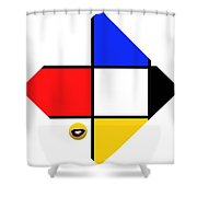 Smile De Stijl Shower Curtain
