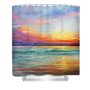 Smile Of The Sunrise Shower Curtain