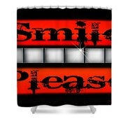 Smile Please Shower Curtain