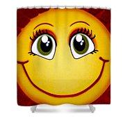 Smiley Sun Shower Curtain
