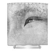 Smiling Eyes Shower Curtain
