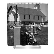 Smith Island Church Shower Curtain