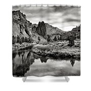 Smith Rock State Park 2 Shower Curtain