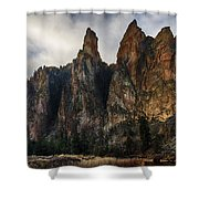 Smith Rock State Park 3 Shower Curtain