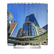 Smith Street Circle Shower Curtain