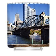 Smithfield Street Bridge Shower Curtain