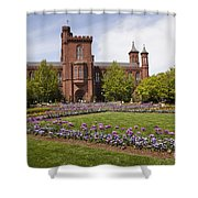 Smithsonian Castle No1 Shower Curtain