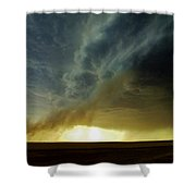 Smoke And The Supercell Shower Curtain