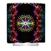 Smoke Art 124 Shower Curtain