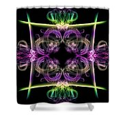 Smoke Art 34 Shower Curtain