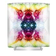 Smoke Art 57 Shower Curtain