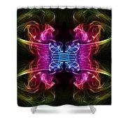 Smoke Art 64 Shower Curtain