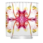 Smoke Art 89 Shower Curtain