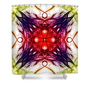 Smoke Art 91 Shower Curtain
