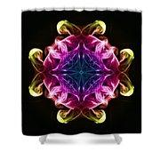 Smoke Art 98 Shower Curtain
