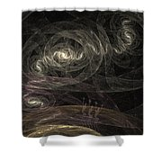 Smoke Dancers Shower Curtain