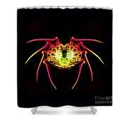 Smoke Spider Shower Curtain