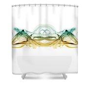 Smoked Crab 1 Shower Curtain