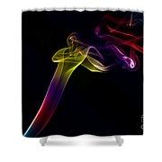 Smokey 10 Shower Curtain
