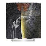 Smokey  Shower Curtain by Brian Roscorla