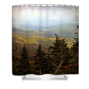 Smokey Mountain High Shower Curtain
