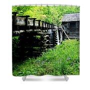 Smoky Mountain Mill Shower Curtain