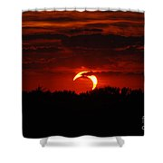 Smokin Moon Shower Curtain