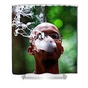 Smokin Puffs Shower Curtain