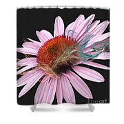 Smoking Beauty Shower Curtain