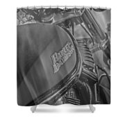 Smoking Hot Hawg Shower Curtain